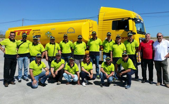 Curso de conducción con camión cisterna para BP
